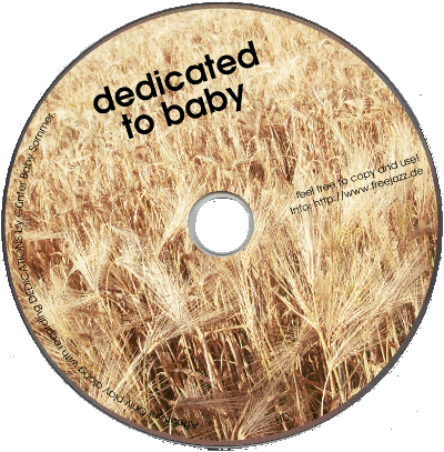 "CD ""dedicated to baby"" 2013"